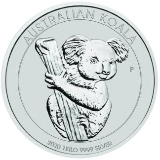 Silber KOALA 2020 1kg