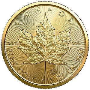 Gold Maple Leaf 2020 1oz