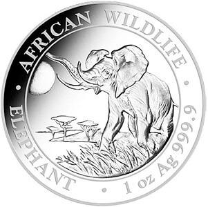 Silber_AfricanWildlife_SomaliaElefant_2016_1oz